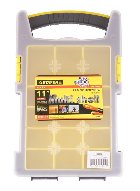 Ящик для инструментов Stayer Multyshel 2-38031 ящик stayer 2 38032