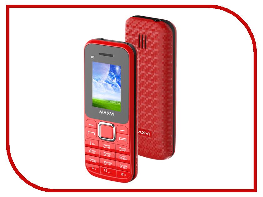 Сотовый телефон Maxvi C8 Red