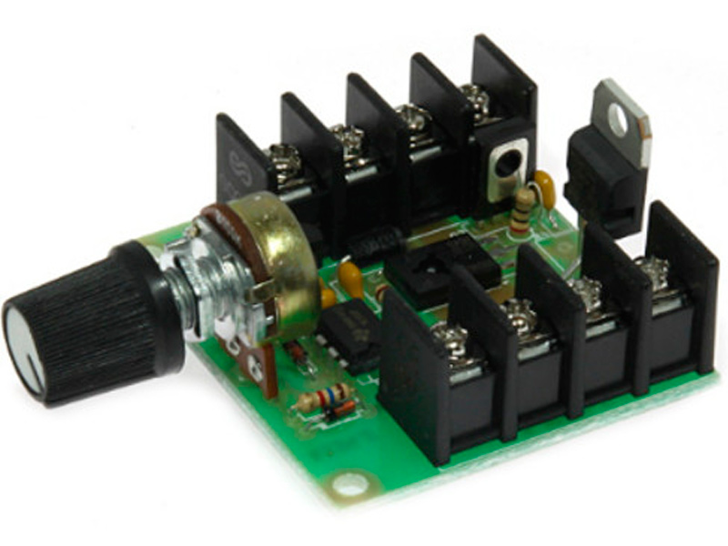 Конструктор Радио КИТ Регулятор мощности RP124.2 с ШИМ 12-50В 30А