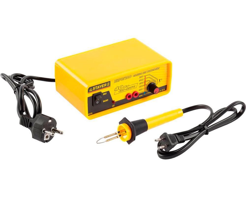 Аппарат для выжигания Stayer Expert 45228