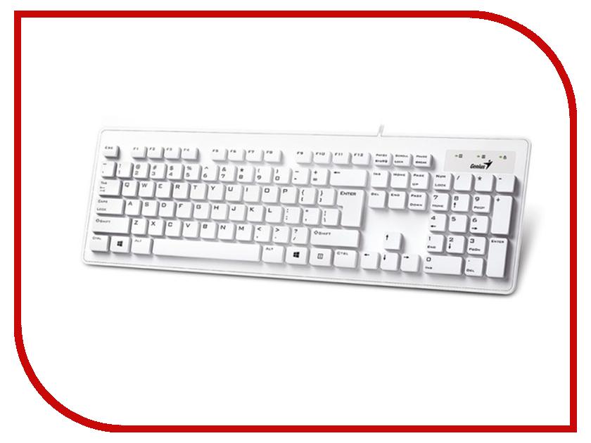 Клавиатура Genius SlimStar 130 USB White