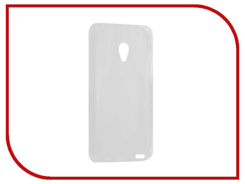 Аксессуар Чехол Meizu MX2 Krutoff Silicone Transparent 10292<br>