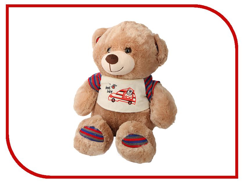 игрушка Флиппер Мишка в футболке Brown ФЛ602 игрушка флиппер мишка в футболке brown фл602