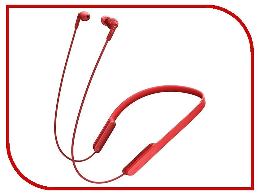 Sony MDR-XB70BT Red плеер sony walkman nwz