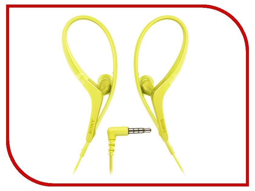 Гарнитура Sony MDR-AS410AP Yellow<br>