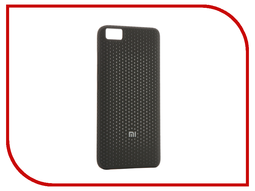 Аксессуар Чехол Xiaomi Mi5 Perforated Soft Case Dark Gray NYE5377GL<br>