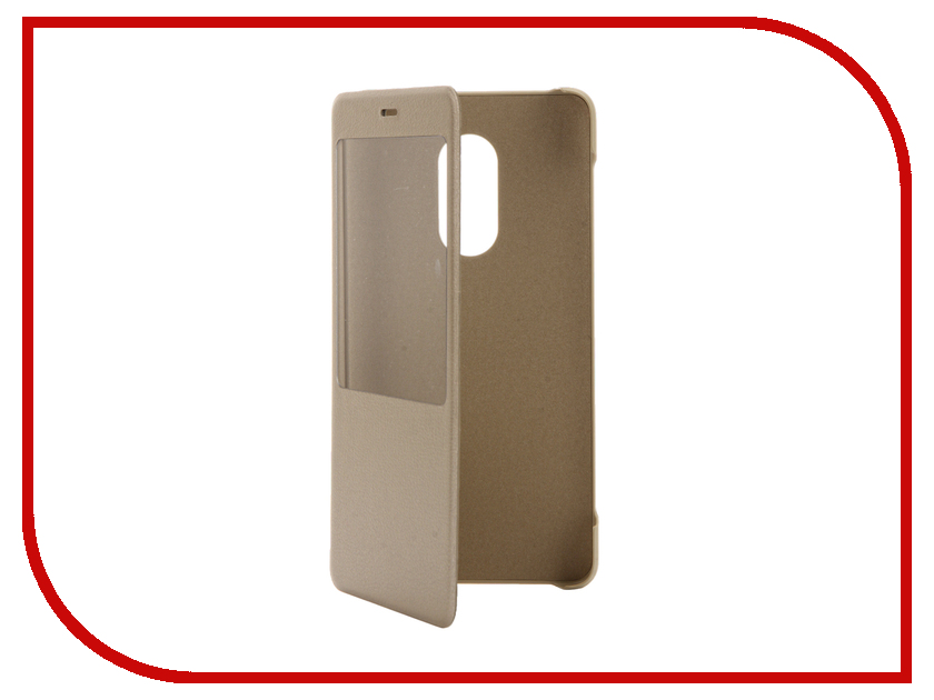 Аксессуар Чехол Xiaomi Redmi Note 4 Smart Flip Case Gold NYE5434TY<br>