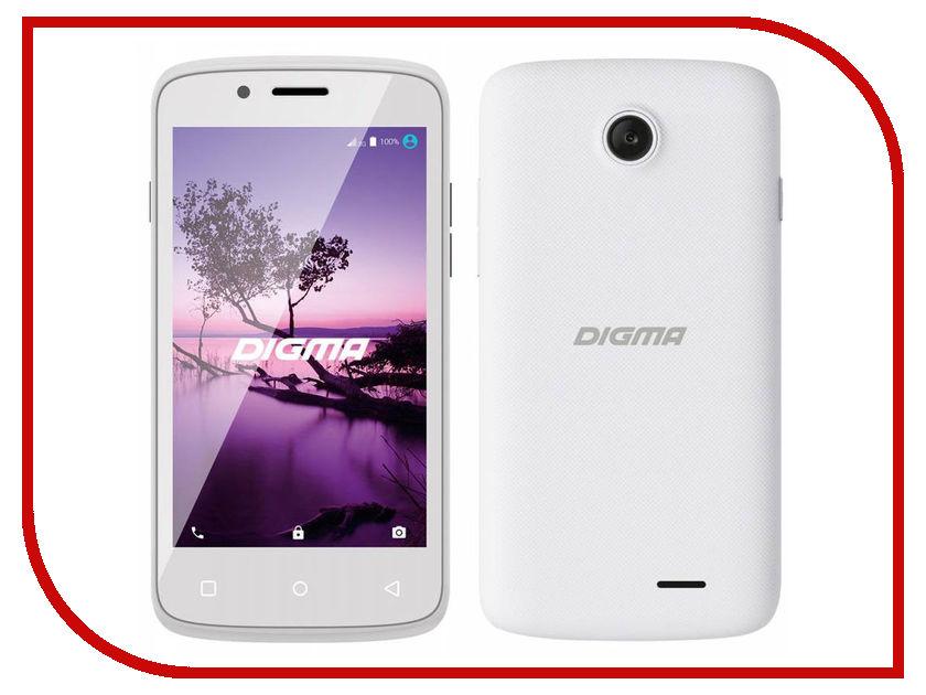 Сотовый телефон Digma Linx A420 3G White<br>
