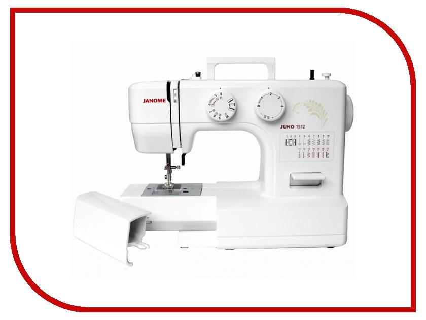 Швейная машинка Janome Juno 1512 швейная машинка janome sew mini deluxe