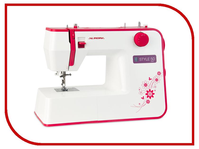 Швейная машинка Aurora Style 50 швейная машинка astralux 7350 pro series вышивальный блок ems700