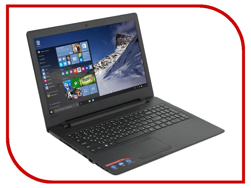 Ноутбук Lenovo IdeaPad 110 80TR000GRK (AMD A9-9400/4096Mb/500Gb/No ODD/AMD Radeon R5/Wi-Fi/Bluetooth/Cam/15.6/1366x768/Windows 10 64-bit)