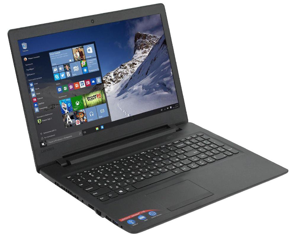 купить Ноутбук Lenovo IdeaPad 110 80TR000GRK (AMD A9-9400/4096Mb/500Gb/No ODD/AMD Radeon R5/Wi-Fi/Bluetooth/Cam/15.6/1366x768/Windows 10 64-bit) по цене 19391 рублей