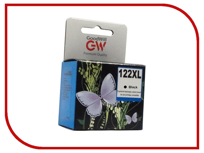 Картридж GoodWill GW-CH563H / GW-CH563HE HP 122XL Black для Deskjet 1000/1050/2000/2050/2510/3050/3510/3540<br>
