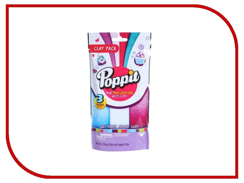 Набор для лепки Moose Poppit White/Purple/Blue 17417/ast17401(17415,17416,17417)<br>