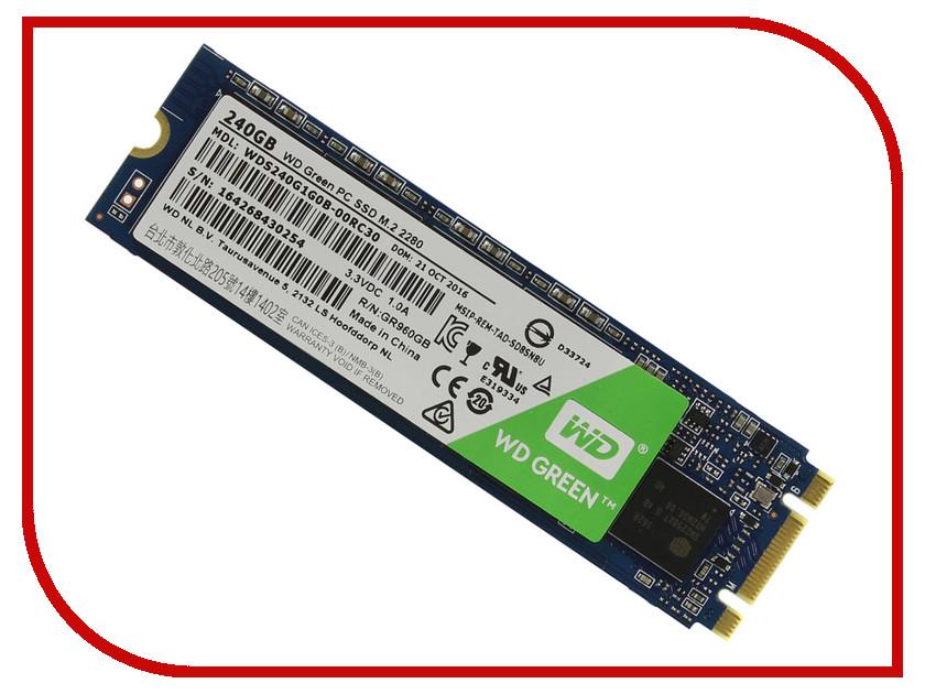 Жесткий диск 240Gb - Western Digital WD Green WDS240G1G0B