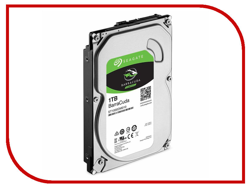 Жесткий диск 1Tb - Seagate ST1000DM010 Barracuda