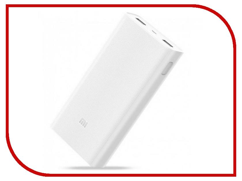 Аккумулятор Xiaomi Mi Power Bank 2 PLM05ZM 20000mAh White power bank 3000mah цена