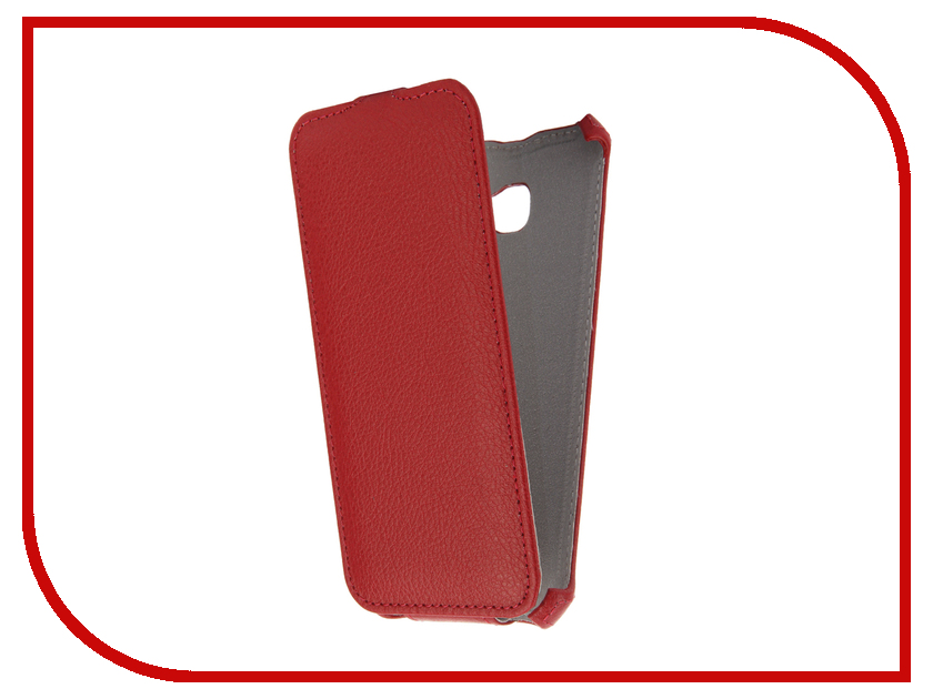 Аксессуар Чехол Samsung Galaxy A5 A520 2017 Gecko Red GG-F-SGA5-2017-RED аксессуар чехол asus zenfone go zc451tg gecko red gg f aszc451tg red