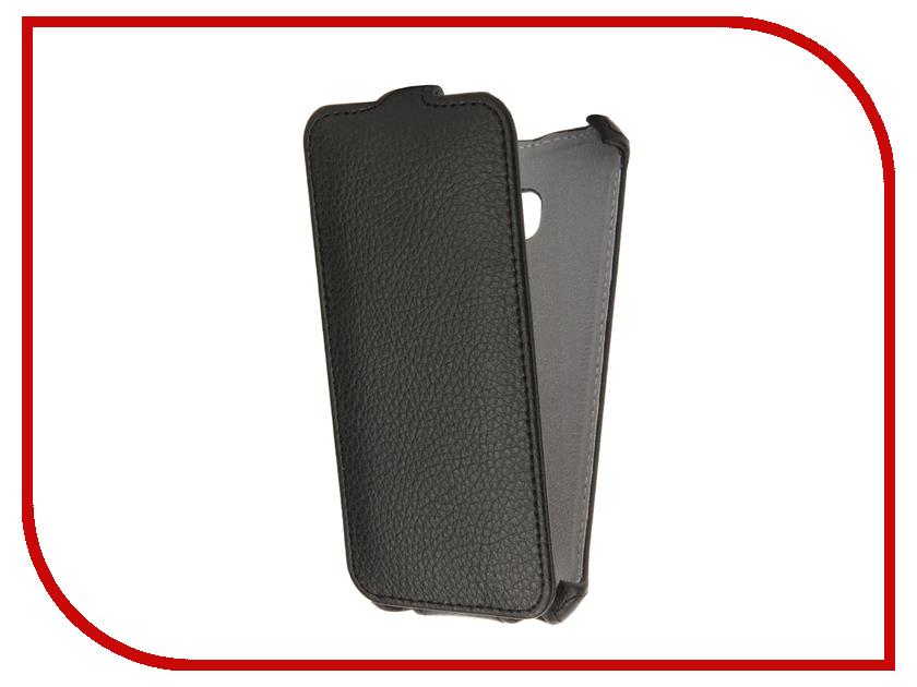 Аксессуар Чехол Samsung Galaxy A3 A320 2017 Gecko Black GG-F-SGA3-2017-BL аксессуар чехол meizu m2 mini gecko black gg f meim2mini bl