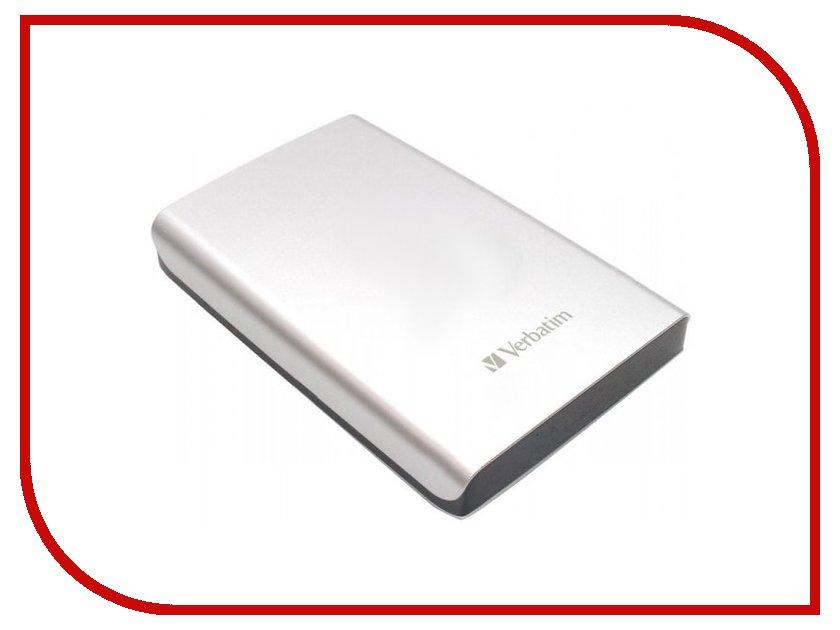 Жесткий диск Verbatim Store n Go 500Gb Silver 53021 USB 3.0 внешний жесткий диск lacie 9000304 silver