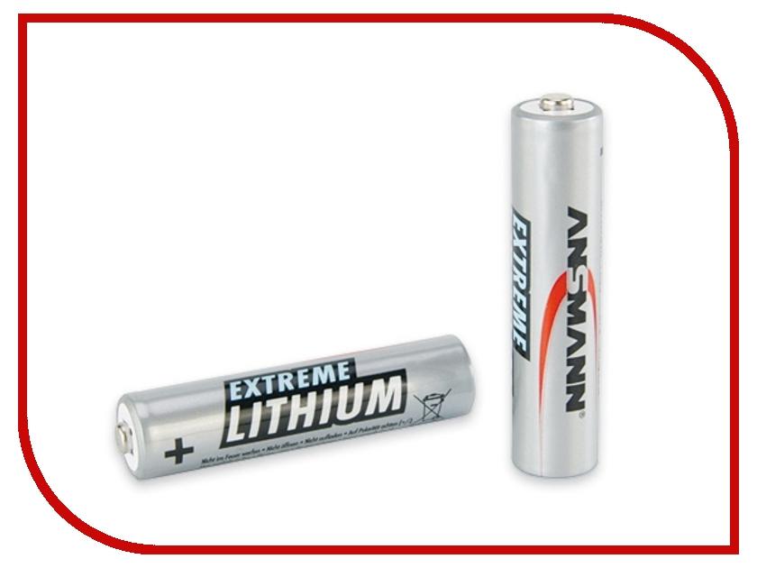 Батарейка AA - Ansmann R06 Extreme Lithium 5021003 (2 штуки)<br>