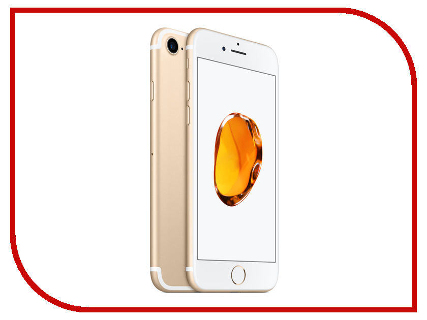 Сотовый телефон APPLE iPhone 7 - 32Gb Gold MN902RU/A сотовый телефон apple iphone 7 plus 32gb silver mnqn2ru a