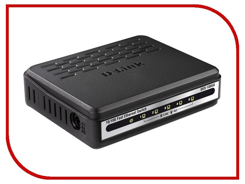 Коммутатор D-Link DES-1005A<br>