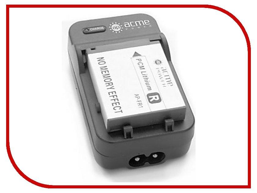 Зарядное устройство AcmePower AP CH-P1640 for Canon LP-E5 (Авто+сетевой) зарядное устройство для аккумуляторов acmepower ap ch p1640 для olympus li 50b pentax d li92 sony np bk1 авто сетевой