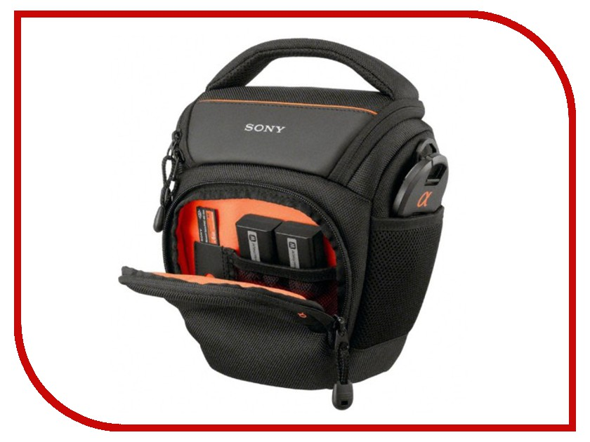 Сумка Sony LCS-AMB Soft Carrying Case for Alpha Black<br>