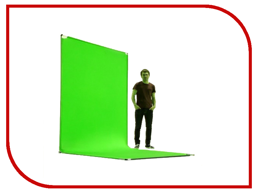Аксессуар MY Key - хромакей-трансформер Green