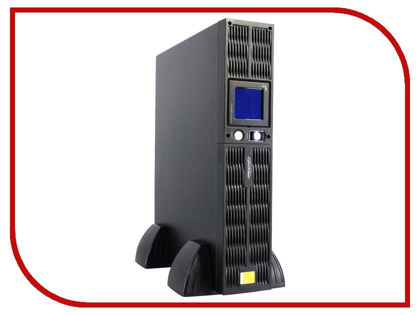 Источник бесперебойного питания CyberPower PR1500ELCDRT2U источник бесперебойного питания cyberpower value line interactive 600va 360w value600ei b