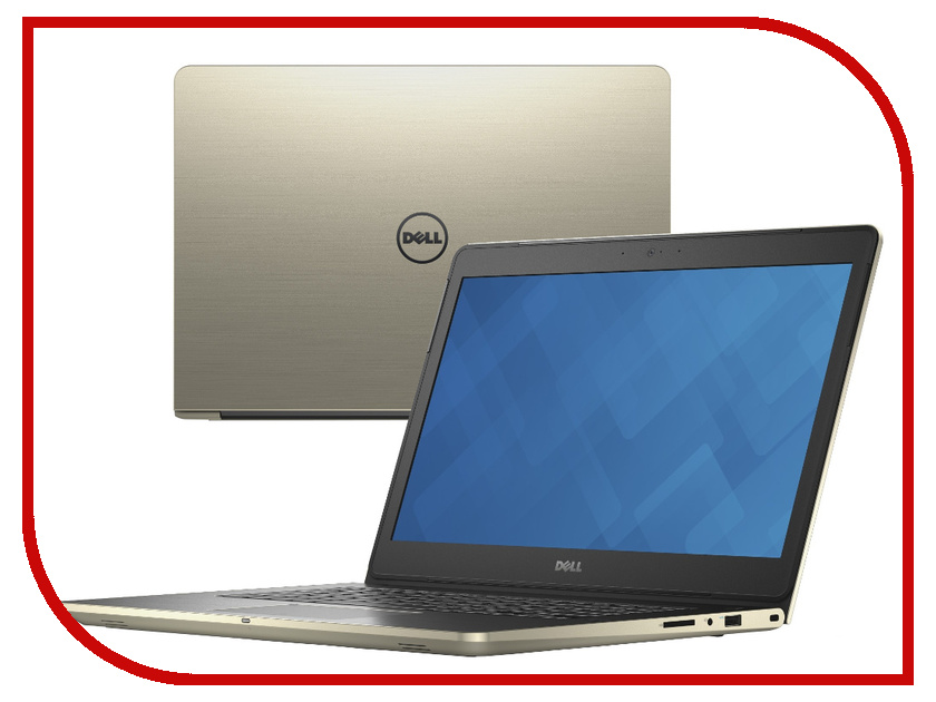 Ноутбук Dell Vostro 5459 5459-0601 (Intel Core i3-6100U 2.3 GHz / 4096Mb / 500Gb / No ODD / nVidia GeForce 930M 2048Mb / Wi-Fi / Bluetooth / Cam / 14.0 / 1366x768 / Windows 10 64-bit)