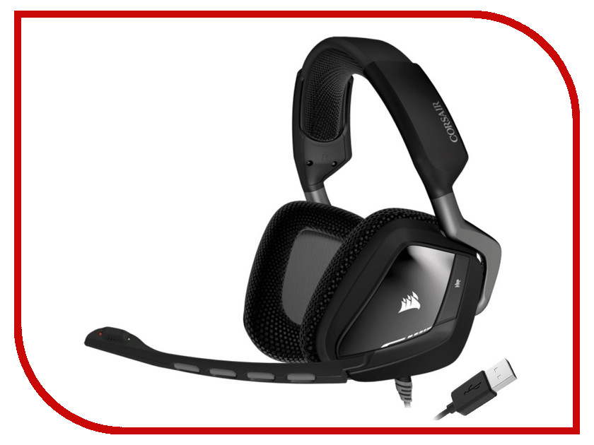 Гарнитура Corsair Void RGB Dolby 7.1 Black USB CA-9011139-EU<br>
