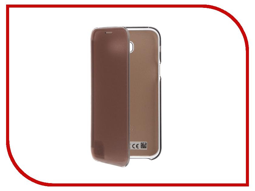 Аксессуар Чехол Samsung A720 Galaxy A7 ClearView Pink EF-ZA720CPEGRU<br>