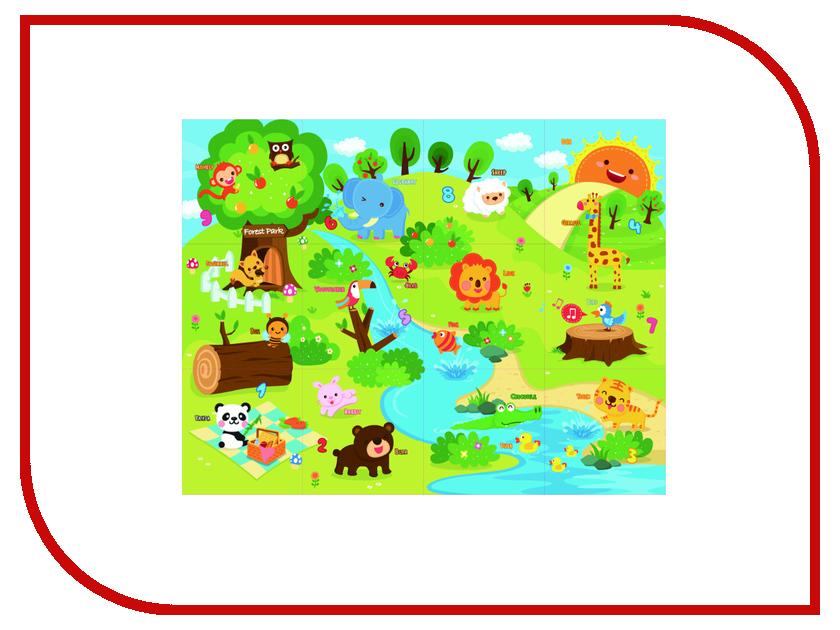 Развивающий коврик Mambobaby Животный мир 70009 игрушка mambobaby русский алфавит 004тм