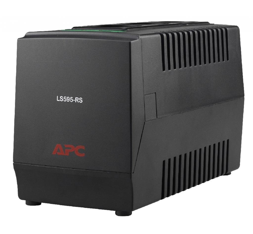 Стабилизатор APC Line-R 595VA LS595-RS стабилизатор напряжения apc line r ls1500 rs 3 розетки 1 м черный