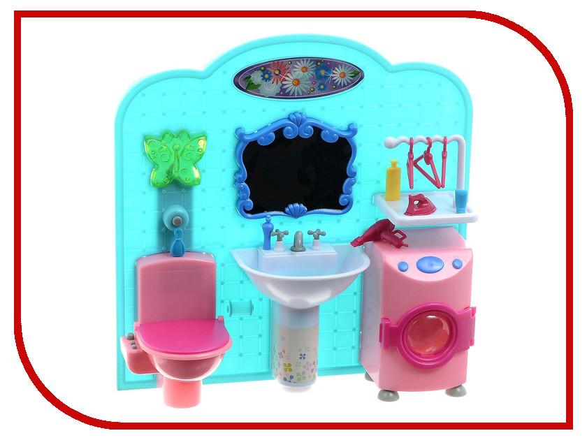 Игра 1Toy Красотка набор мебели для кукол, ванная комната 31x9.5x31cm Т54513<br>