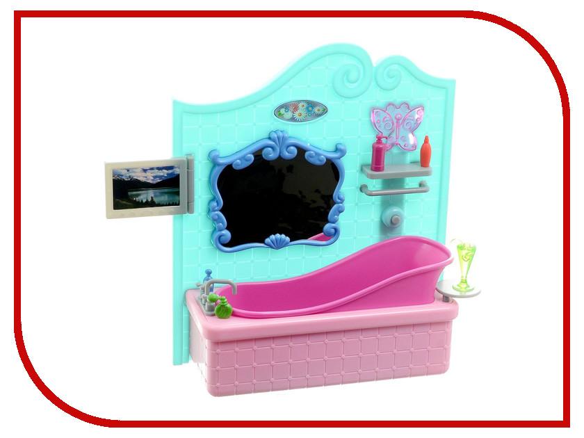 Игра 1Toy Красотка набор мебели для кукол, ванная 31x9.5x31cm Т54512