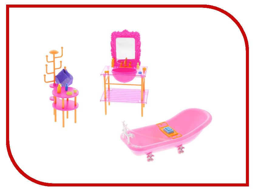 Игра 1Toy Красотка набор мебели для кукол, ванная 26x7.5x19cm Т54508