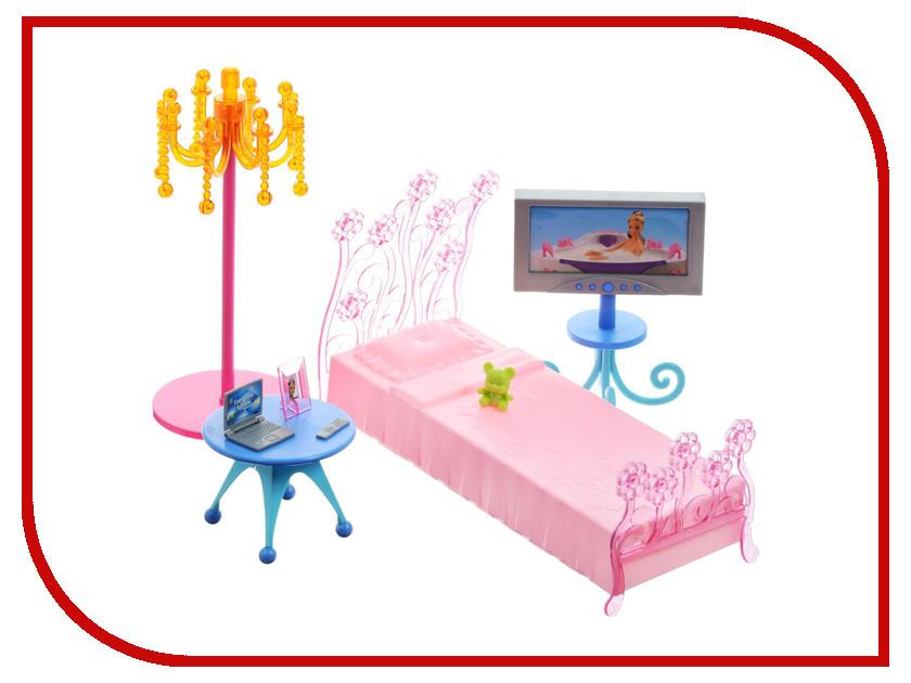 Игра 1Toy Красотка набор мебели для кукол, спальня 30x6x15.5cm Т54507