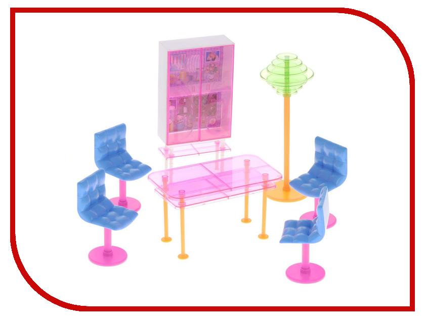 Игра 1Toy Красотка набор мебели для кукол, столовая 27x7x20cm Т54505