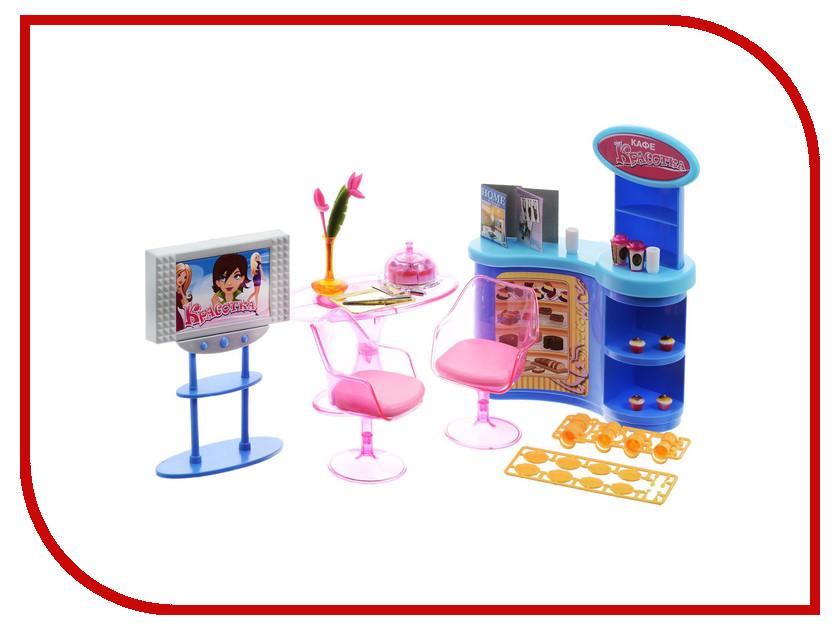 Игра 1Toy Красотка набор мебели для кукол, кафе 33x7.5x21cm Т54503