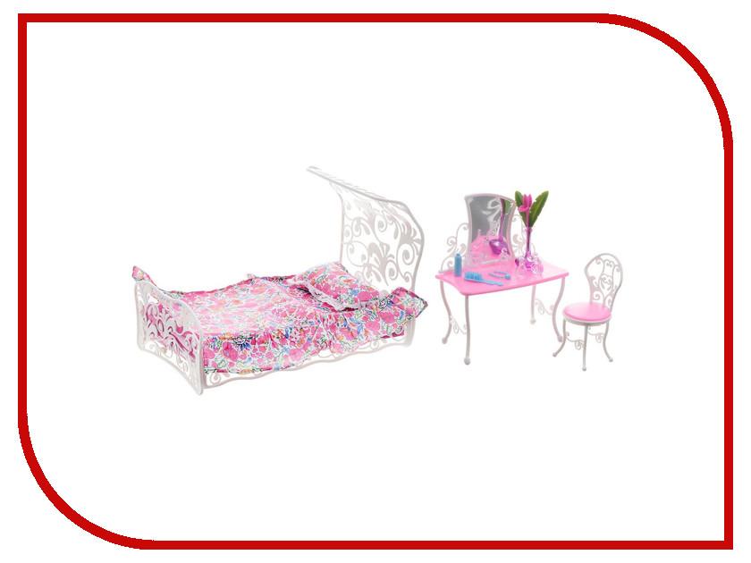 Игра 1Toy Красотка набор мебели для кукол, спальная комната Т52118<br>