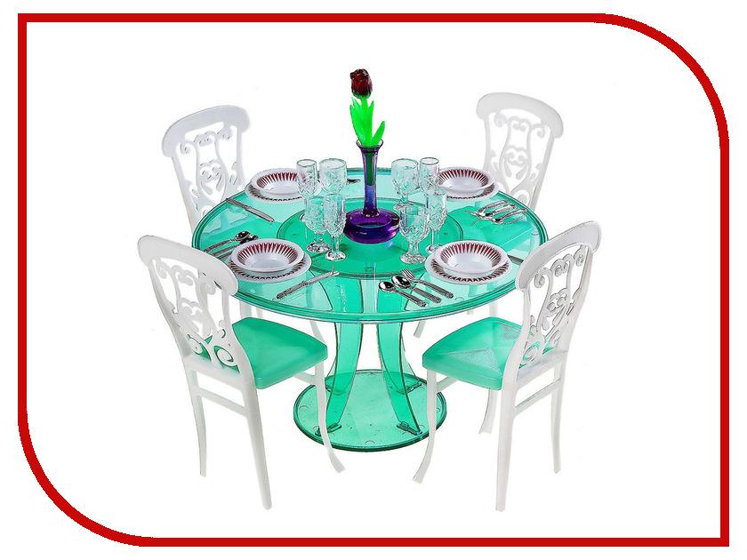Игра 1Toy Красотка набор мебели для кукол, обеденный стол Т52117