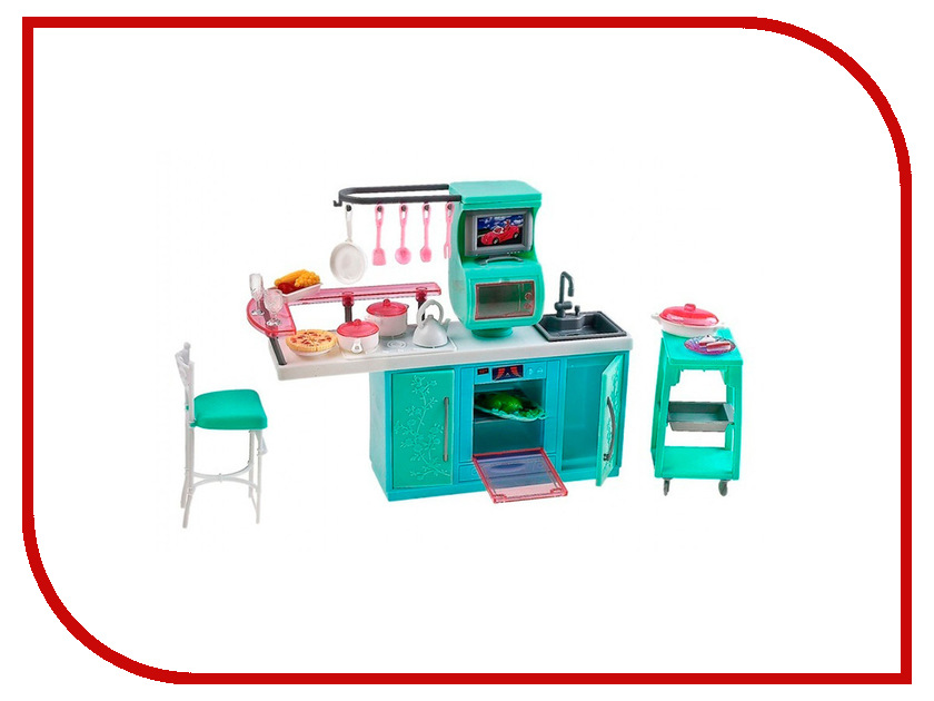 Игра 1Toy Красотка набор мебели для кукол, кухня Т52113 кукольные домики 1toy дом для кукол с мебелью 2 секции 28 деталей 1toy красотка