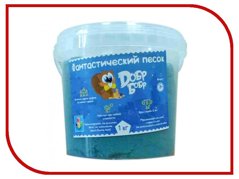 Набор для лепки Dобр Бобр Фантастический песок 1кг Blue Т10264<br>