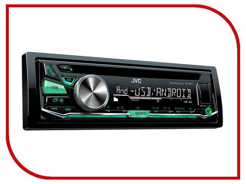 Автомагнитола JVC KD-X143 автомагнитола kenwood kdc bt510u