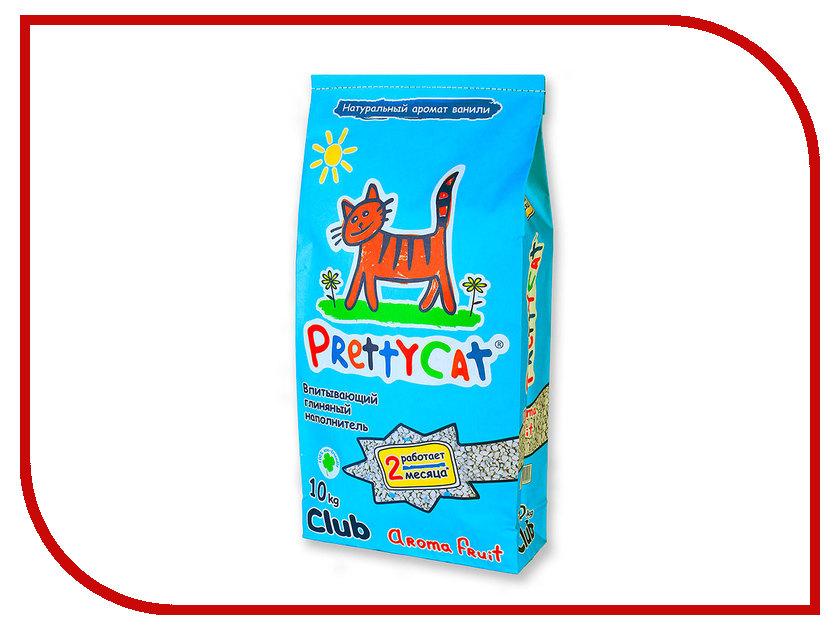 Наполнитель PrettyCat Aroma Fruit Club впитывающий 10Kg 42295