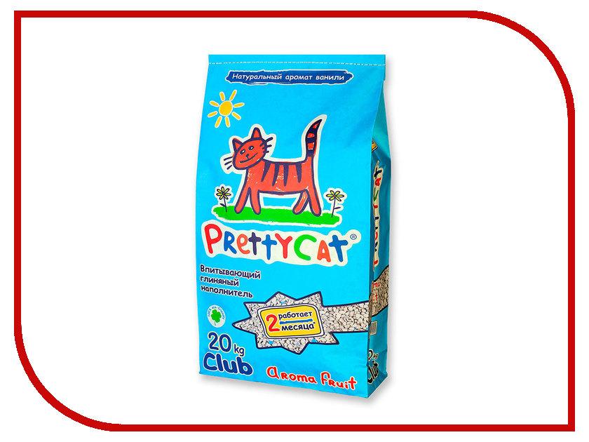 Наполнитель PrettyCat Aroma Fruit Club впитывающий 20Kg 42296