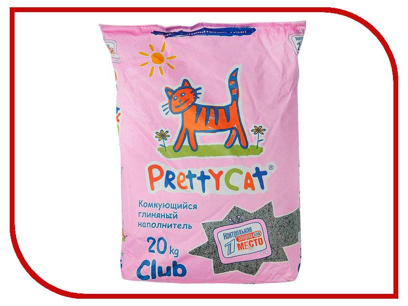 Наполнитель PrettyCat Euro Mix Club комкующийся 20Kg 42305 наполнитель prettycat euro mix club комкующийся 20kg 42305